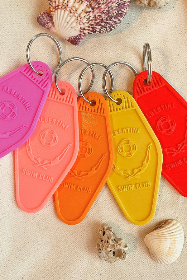 """Porte clef """"Swim club"""""""
