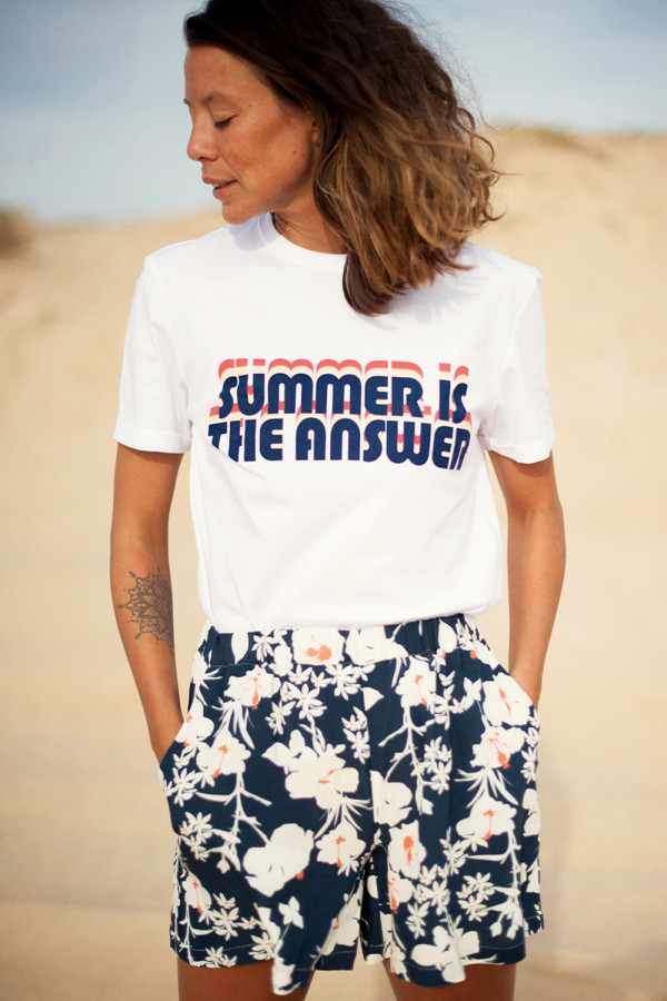 T-shirt Bahia, summer blue