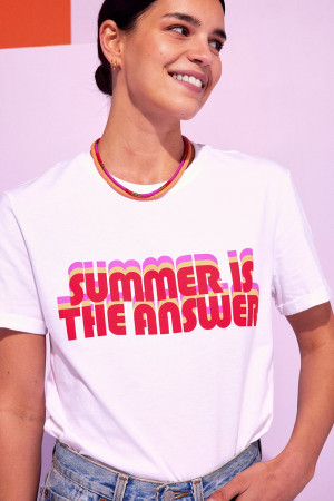 T-shirt Bahia, summer red